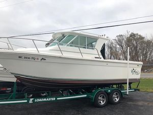 Used Baha Cruisers 252 GLE252 GLE Freshwater Fishing Boat For Sale