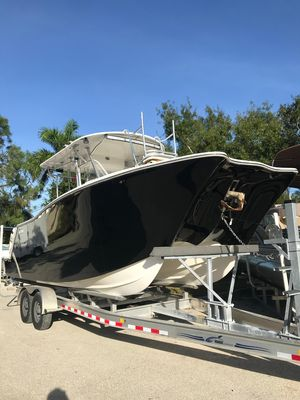 Used Tides 270 Tournament Cat Power Catamaran Boat For Sale