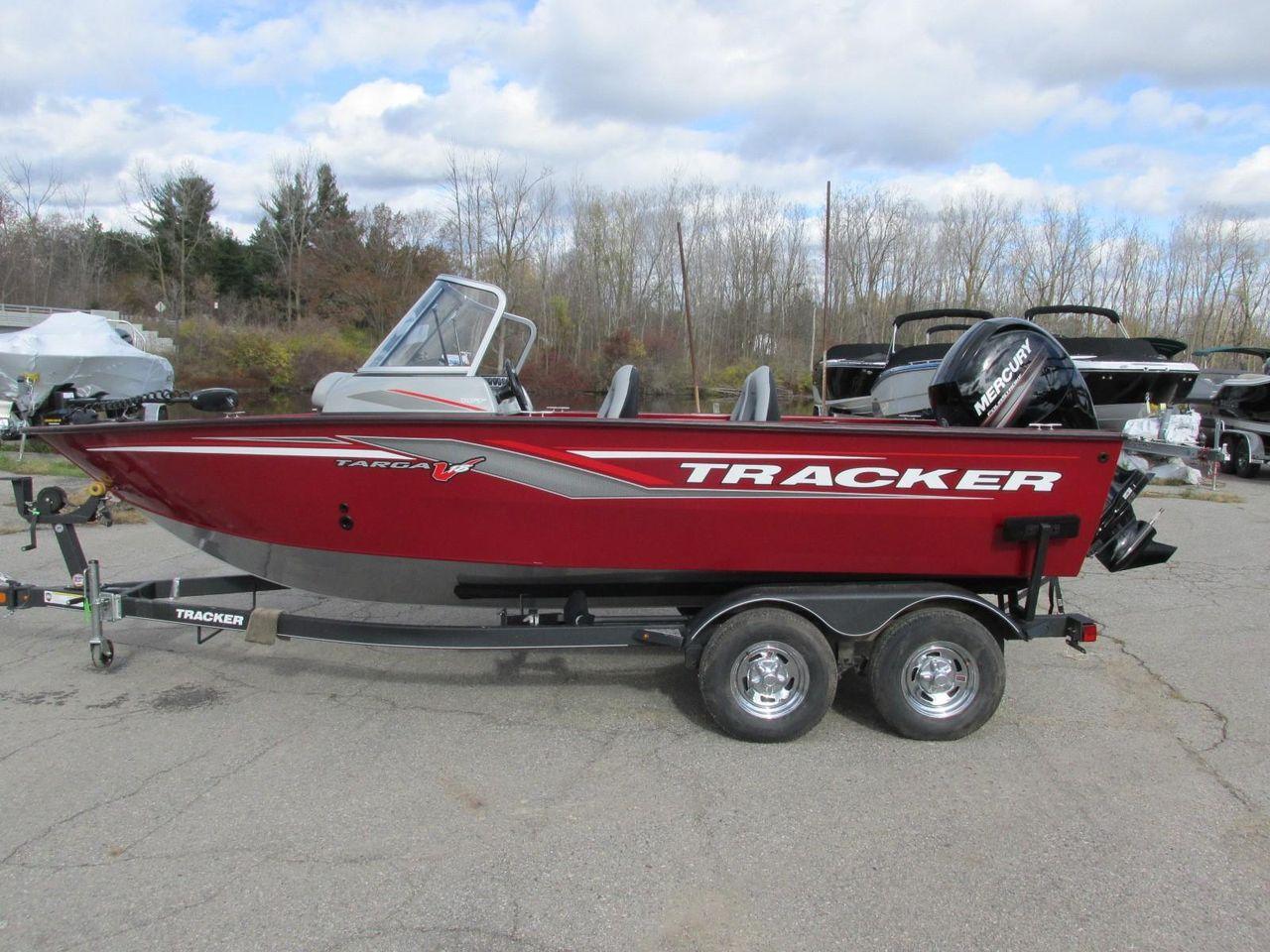 2019 New Tracker Targa V-18 WTTarga V-18 WT Aluminum Fishing Boat