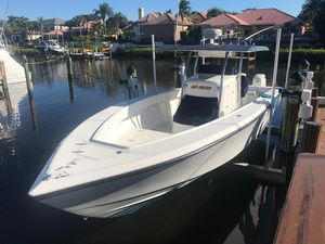 Used Venture 34 Center Console Fishing Boat For Sale