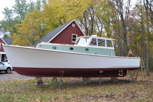 Used Downeast Ronald Rich Cruiser Boat For Sale
