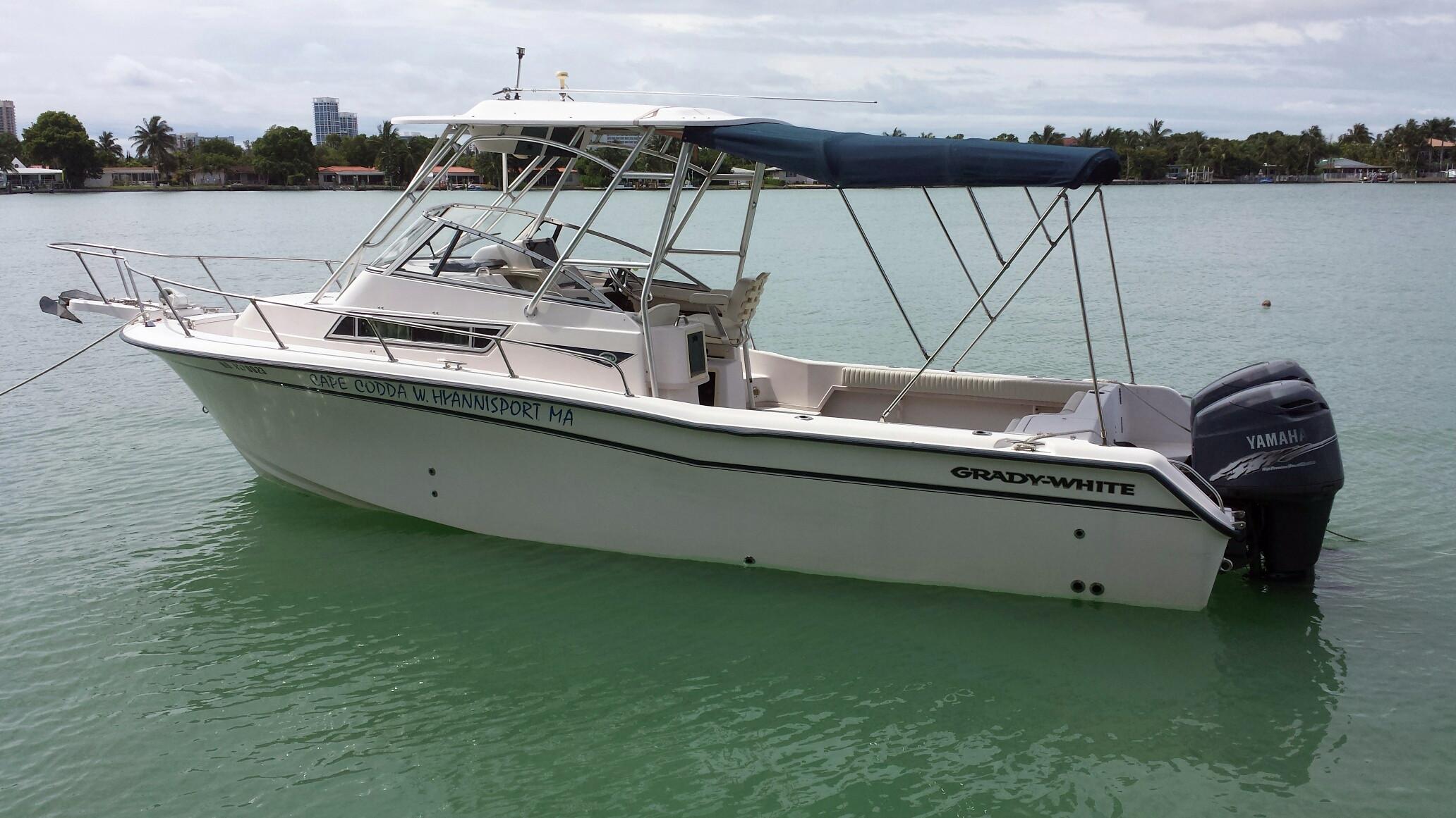 Used Grady White 268 Islander Wa Walkaround Fishing Boat For Sale