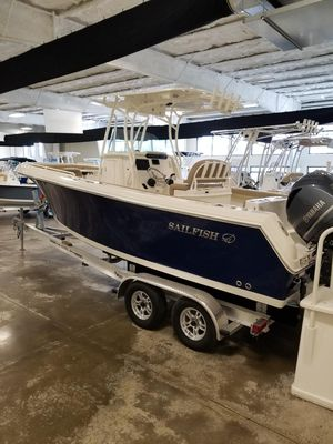 New Sailfish 242cc Center Console Fishing Boat For Sale