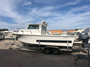 Used Parker 2520xld Pilothouse Boat For Sale