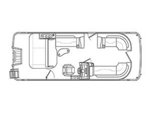 New Bennington 23SSBXP23SSBXP Pontoon Boat For Sale