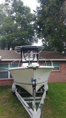Used Shamrock 22 stalker Center Console Fishing Boat For Sale