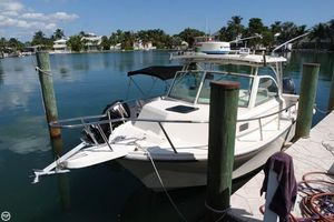 Used Parker Marine 2510 Walkaround Fishing Boat For Sale