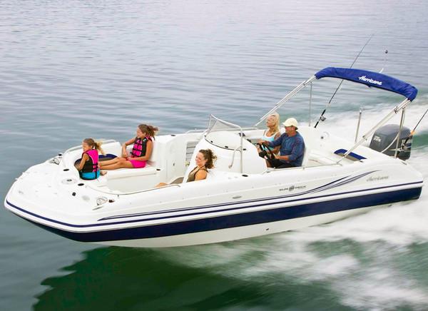 New Hurricane SunDeck Sport 231 OB Deck Boat For Sale
