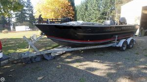 Used Alumaweld 21 Formula Vee Aluminum Fishing Boat For Sale