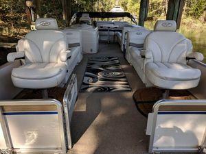 Used Harris Super Sunliner 250 LX Pontoon Boat For Sale