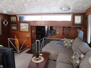 Used Pluckebaum 75 Baymaster House Boat For Sale