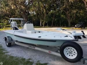 Used Sterling Powerboats 17 Skiff Fishing Boat For Sale