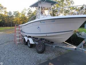 Used Stratos 2100 Center Console Fishing Boat For Sale
