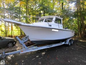 Used Parker Marine 2320 Sport Cabin Pilothouse Boat For Sale