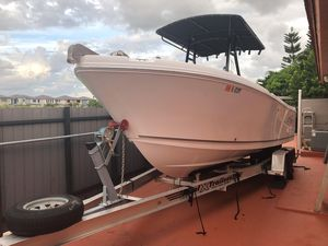 Used Pro - Line Saltwater Fishing Boat For Sale