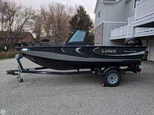 Used Lowe FS 1610 Aluminum Fishing Boat For Sale