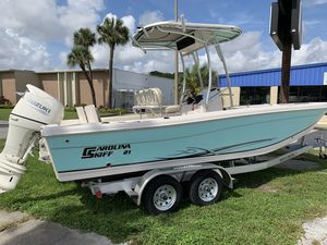 New Carolina Skiff 21 Ultra21 Ultra Center Console Fishing Boat For Sale