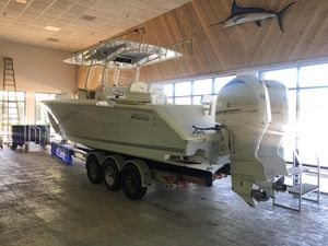 Used Jupiter 34 HFS34 HFS Center Console Fishing Boat For Sale