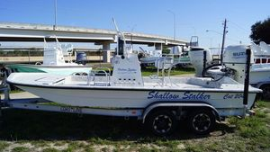 New Shallow Stalker CAT-204CAT-204 Center Console Fishing Boat For Sale