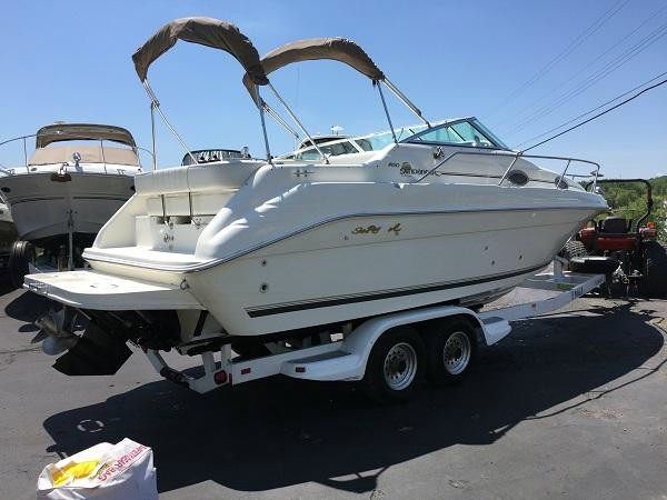 Used Sea Ray 250 Sundancer Cruiser Boat For Sale