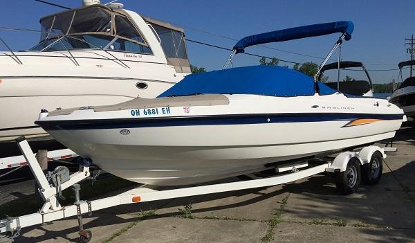 Used Bayliner 225BR Bowrider Boat For Sale