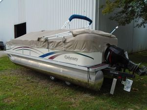 Used Odyssey 21032103 Pontoon Boat For Sale