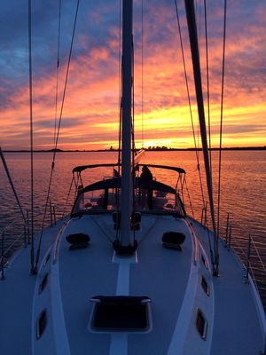 Used Catalina 42 MKII Deck Saloon Sailboat For Sale
