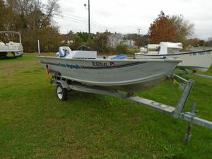 Used Sea Nymph FM146FM146 Aluminum Fishing Boat For Sale