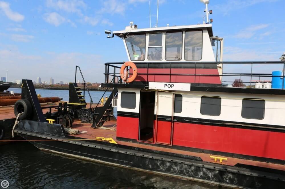 1998 Used Progressive Industrial 60 Tug Boat For Sale