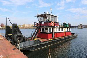 Used Progressive Industrial 60 Tug Boat For Sale
