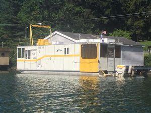 Used Custom Houseboat UFAB 37Houseboat UFAB 37 House Boat For Sale