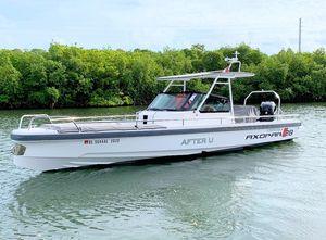 Used Axopar 28 TT28 TT Center Console Fishing Boat For Sale