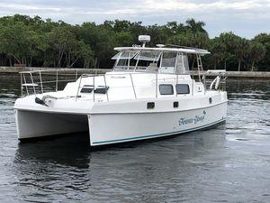 Used Endeavour Catamaran Trawler Cat 36 Cruiser Boat For Sale