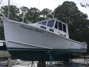 Used Bhm Downeast Lobster Commercial Boat For Sale