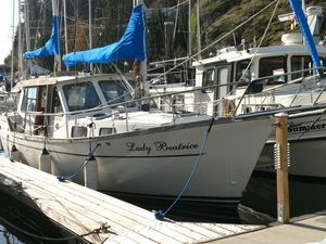Used Nauticat Motorsailer Fin Keel Motorsailer Sailboat For Sale