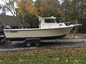 Used Parker 2520 SL Pilothouse Boat For Sale