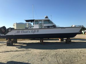 Used Twin Vee 36 Center Console Power Catamaran Boat For Sale