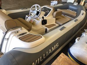Used Williams Jet Tenders Turbojet 385 High Performance Boat For Sale