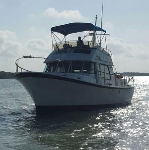 Used Hatteras 42 LRC Trawler Boat For Sale
