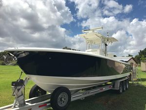 Used Seavee 320 B Open Center Console Fishing Boat For Sale