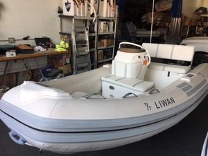 Used Nautica 15 DLX Rigid Sports Inflatable Boat For Sale