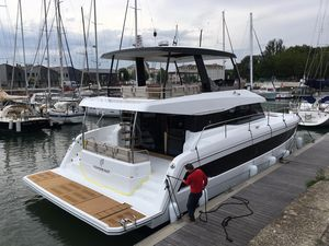 New Fountaine Pajot MY 44 Power Catamaran Boat For Sale