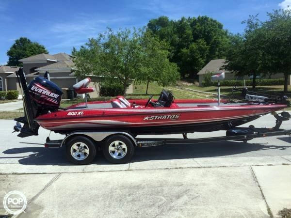 2008 Used Stratos 200 XL Bass Boat For Sale 32 000