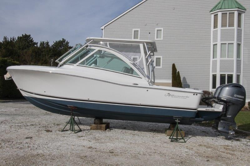 2019 New Albemarle 27 Dual Console Sports Fishing Boat For Sale
