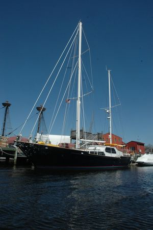Used Custom 84' Don Brooke Ketch Cruiser Sailboat For Sale