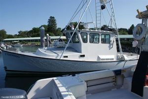 Used Young Brothers 33 Downeast Fishing Boat For Sale