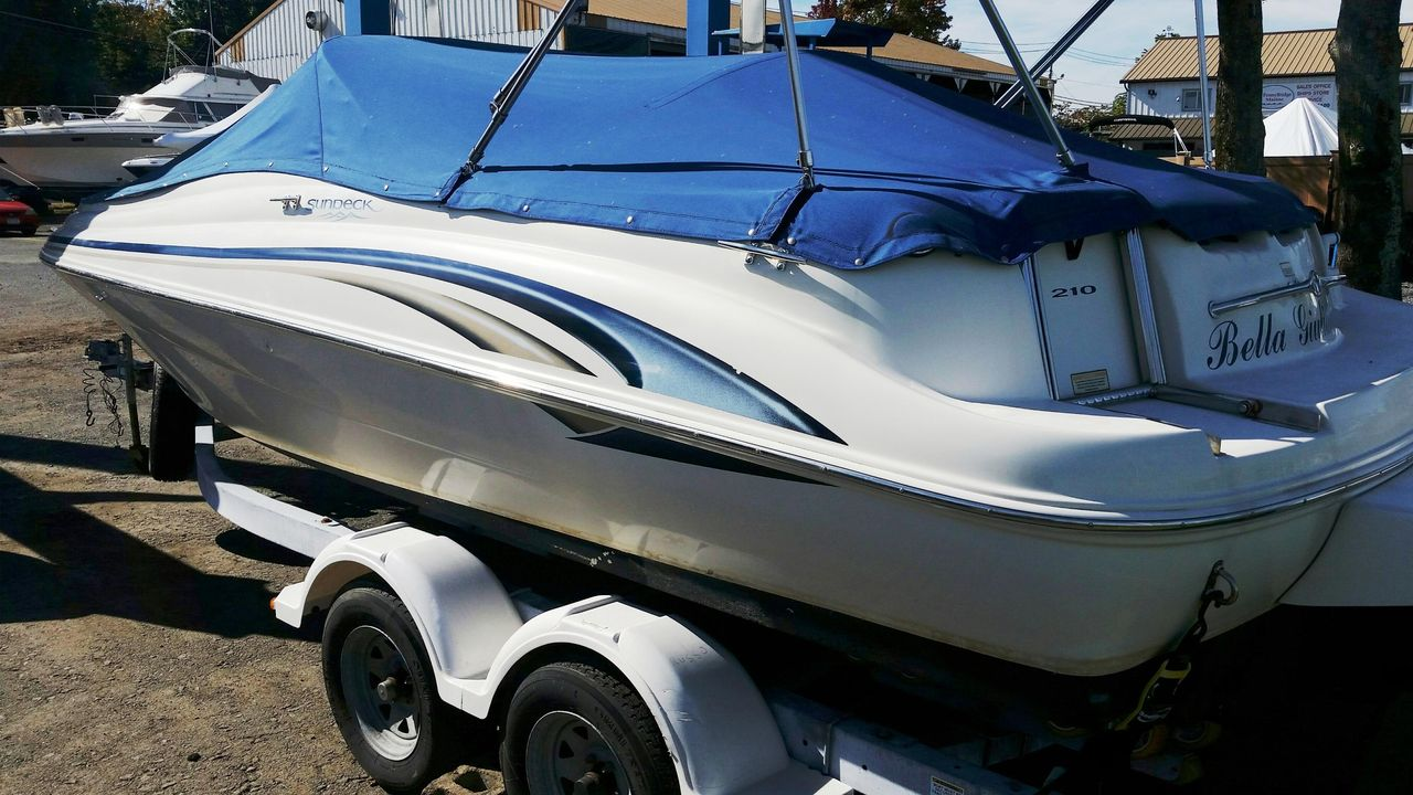2000 Used Sea Ray 210 Sundeck Other Boat For Sale - $17,500
