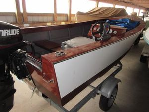 Used Custom Little MOBY Skiff Sports Fishing Boat For Sale