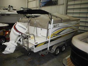 Used Carolina Skiff DS 20 Fun Chaser Pontoon Boat For Sale