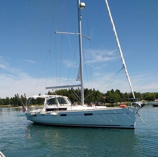 2014 Used Beneteau Oceanis 45 Cruiser Sailboat For Sale